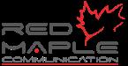 RED MAPLE COMMUNICATION Logo